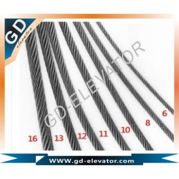 8x19S+FC IWR elevator steel wire rope
