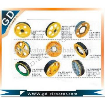 Custom processing elevator Traction Wheel,Deflector Sheave,rope wheel