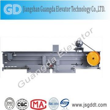 opening mechanism for elevator door/hatch door operator
