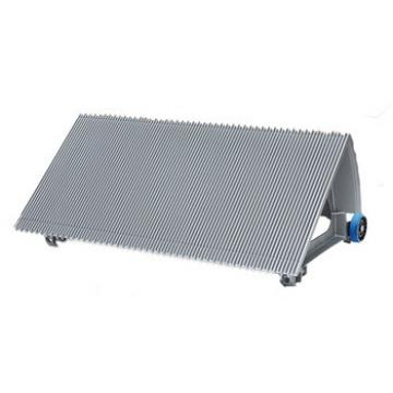 800mm Gray Escalator Aluminum Step Without Demarcation