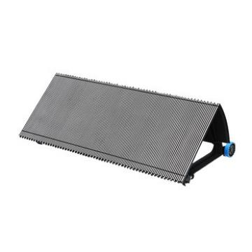 1000mm Black Escalator Aluminum Step Without Demarcation