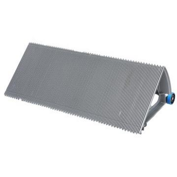 1000mm Gray Escalator Aluminum Step Without Demarcation