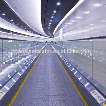 EN115 Standard Indoor Outdoor Horizontal Stainless Steel Pallet Auto Moving Walks for Shopping Center Airport and Mall