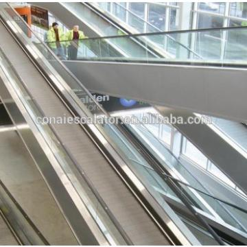 EN115 Outdoor Indoor Horizontal Stainless Steel Pallet Moving Walks Conveyor for Shopping Center Airport and Mall