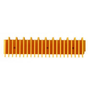 Fujitec Escalator Part,Plastic Step Demarcation Plate Border