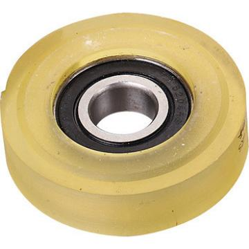 CNRL-004 Escalator step roller 76*21.4mm, 6204-2RS in stock