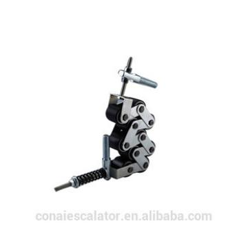 CNHC-040 SSL High Quality Escalator Handrail Pressure Chain 60mm with 10 Black Rollers 50*50mm