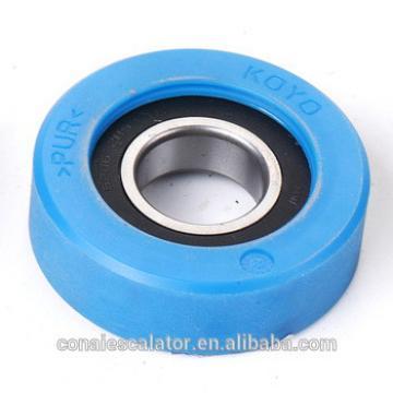 CNRL-254 PU material escalator parts step roller 80*25mm,escalator roller