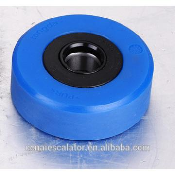 CNRL-264 PU material blue escalator parts step roller from Ningbo