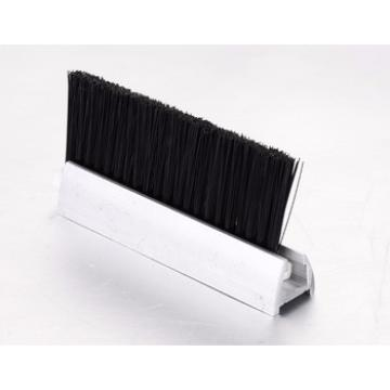 CNSB-014 cheap Escalator safe straight line skirt panel brush with single Nylon brush and 20 mm Aluminum base