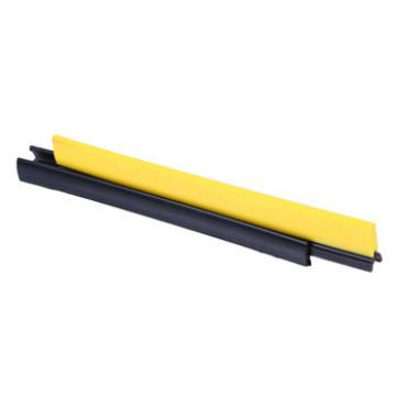 CNSB-020 cheap Escalator safe straight line skirt panel brush with yellow plastic brush and 25 mm plastic base