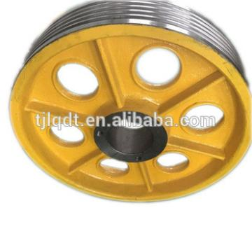 OT1S high speed T main machine host ,elevator traction wheel of elevator parts