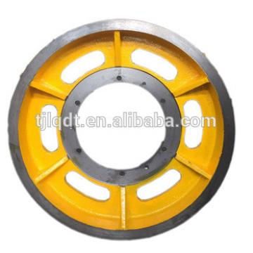 Sally shi passenger lift elevator wheel and traction sheave of elevator accessories parts