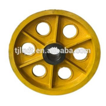 Safe and convenient elevator lifting pulleys, elevator traction sheave