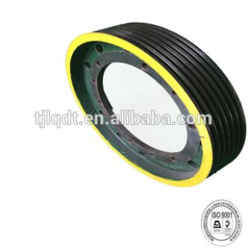 Kone traction wheel,elevator wheel,diameter650 Line number6 rope diameter13,,elevator parts