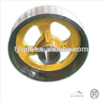 Elevator parts with, Elevator brake Wheel , elevator pulley