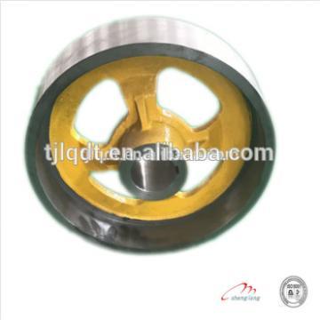 The elevator brake wheel with quality guarantee 350/370