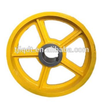 Manufacturer's direct sales of elevator accessories, ductile iron schindler's traction sheave