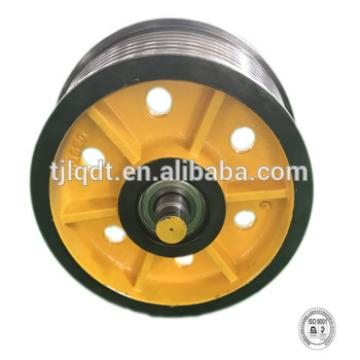 Cast iron wheel lift, guide pulley,elevator parts540*(5-7)*12