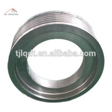 Mitsubishi safety elevator accessory traction wheel,elevator lift spare parts400*(5-6)*10