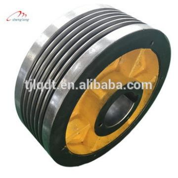 Manufacturers direct sales of elevator parts, elevator component spare parts , lift traction wheel