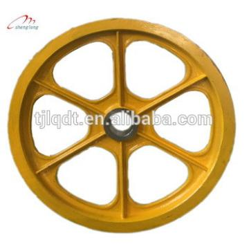 lift friction wheel,elevator traction sheave ,elevator lift passenger,used elevator parts