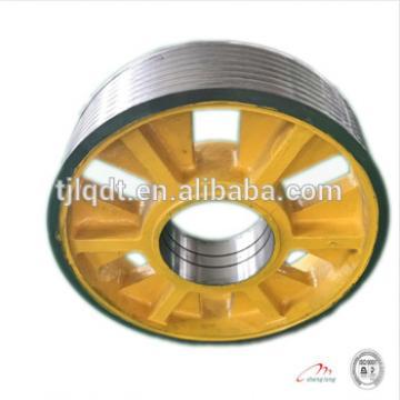 cast iron wheels diversion sheave of fujitec elevator parts