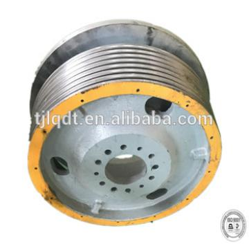 Construction equipment with quality assurance, elevator wheel