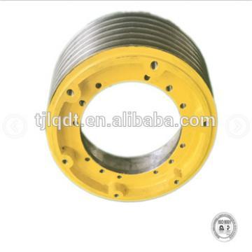 Hitachi lift wheel, traction wheel,elevator parts,400*5*10