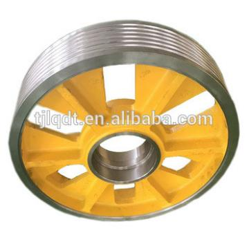 The elevator lifting equipment, lifting pulley wheels ,diversion sheave,513*(5-7)*10