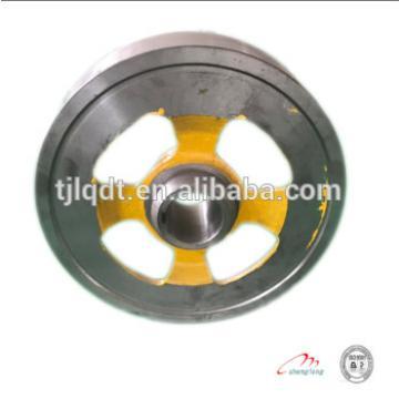 Elevator power wheels cast iron the brake wheel of elevator lift spare parts
