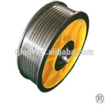 Fujitec, diversion sheave,elevator wheel, lift parts elevator sheave