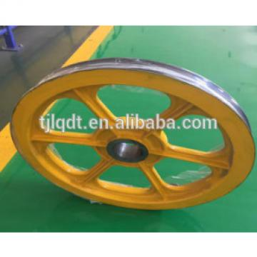 OT1S traction elevator wheel,elevator lift parts,750*(4-6)*13