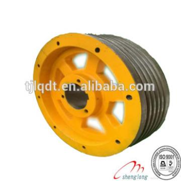 THYSSENKRUPP elevator wheel traction elevator wheel,elevator parts,lift spare parts