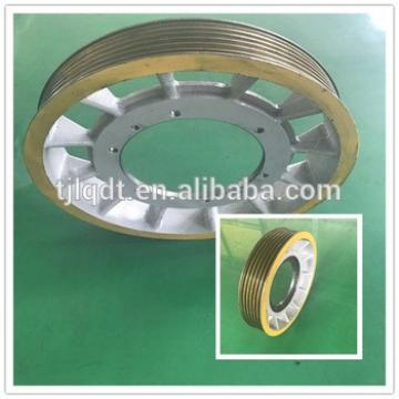 The traction elevator wheel ,elevator lift parts