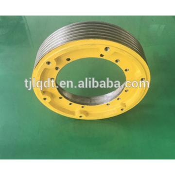 Hitachi ,the elevator traction wheel,elevator wheel,elevator parts400*5*10