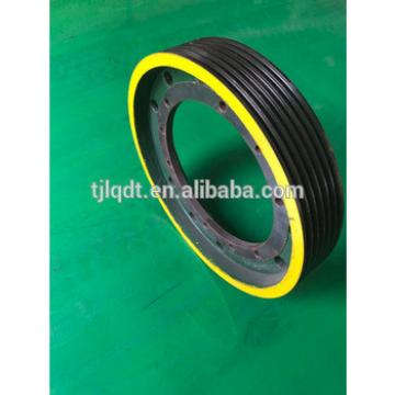 This quality and safety traction wheel,elevator wheel 650*6*13