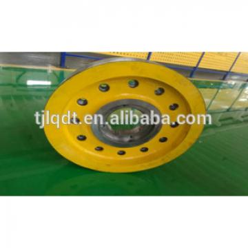xizi traction elevator wheel,elevator parts,lift spare parts