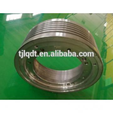 OT1Si permanent magnet traction elevator wheel,elevator parts,lift parts 410*(5-7)*10
