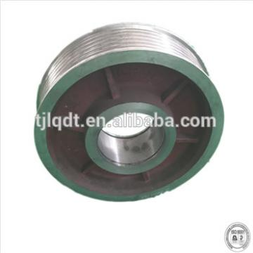 cast iron diversion sheave of elevator wheel elevator lift spare parts