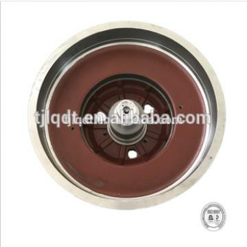 Safe and reliable and can be manned elevator brake wheel