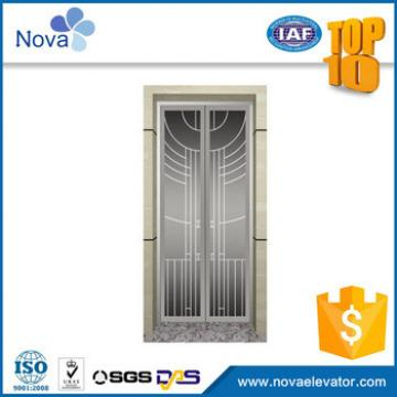 Dependable performance popular design aluminium accessories for elevator and door panel china