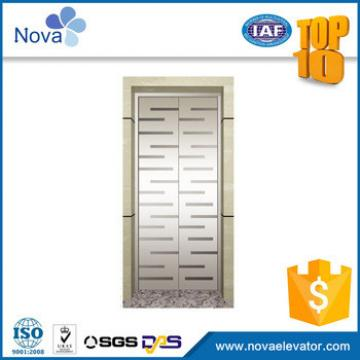 Company glass elevator landing door panels parts lift cheap
