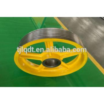 Hitachi ,the elevator traction wheel,specification 610*(4-7)*12