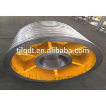 Fujitec ,Of heavy rope wheel,specification 544*(6-10)*18