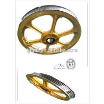 The traction wheel,elevator parts,lift parts