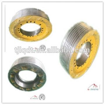 Safe and reliable elevator wheel
