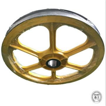 high quality cast iron wheels and elevator traction wheels of elevator parts