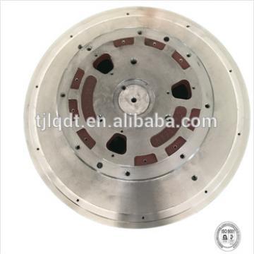 Smooth operation elevator wheel cast iron brake wheel,diameter 580 with elevator wheel