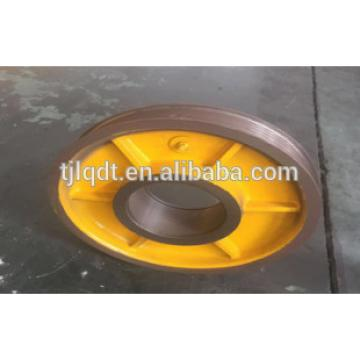 diversion sheave of elevator wheel elevator lift spare parts